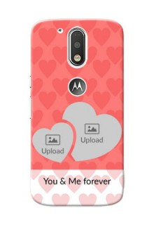 Motorola G4 Couples Picture Upload Mobile Cover Design