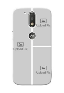 Motorola G4 Multiple Picture Upload Mobile Cover Design