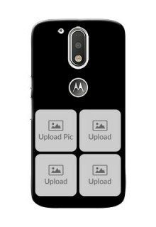 Motorola G4 Multiple Pictures Mobile Back Case Design