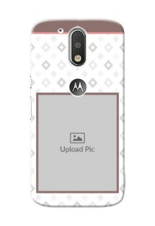 Motorola G4 Simple Mobile Back Case Design