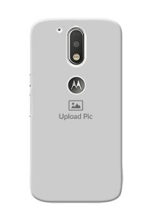 Motorola G4 Full Picture Upload Mobile Back Cover Design