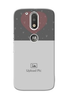 Motorola G4 love design with heart Design Design