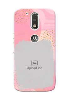 Motorola G4 splashes backdrop with gold glitter sprinkles Design Design