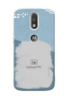 Motorola G4 grunge backdrop with line art Design Design
