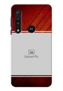 Motorola G8 Play Back Covers: Leather Phone Case Design