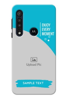 Motorola G8 Play Personalized Phone Covers: Happy Moment Design