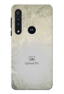 Motorola G8 Play custom mobile back covers with vintage design