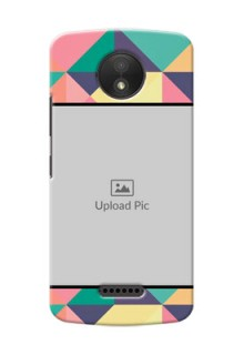 Motorola Moto C Plus Bulk Picture Upload Mobile Case Design