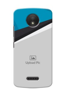Motorola Moto C Plus Simple Pattern Mobile Cover Upload Design