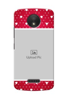 Motorola Moto C Plus Beautiful Hearts Mobile Case Design