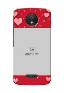 Motorola Moto C Plus valentines day couple Design