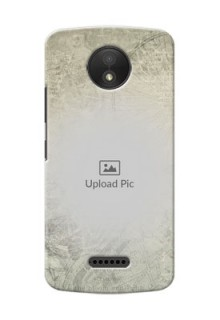 Motorola Moto C Plus vintage backdrop Design