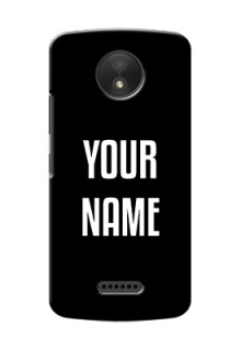 Motorola Moto C Plus Your Name on Phone Case