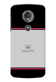 Motorola Moto E5 Plus Photo With Text Mobile Case Design