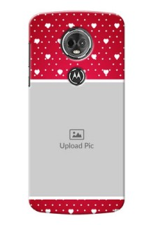 Motorola Moto E5 Plus Beautiful Hearts Mobile Case Design