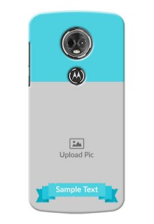 Motorola Moto E5 Plus Simple Mobile Back Cover Design