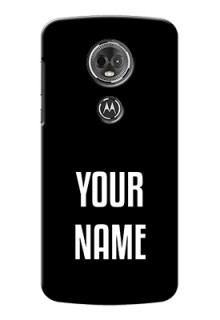 Motorola Moto E5 Plus Your Name on Phone Case