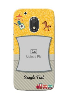 Motorola Moto G4 Play Baby Picture Upload Mobile Cover Design
