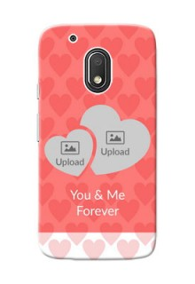 Motorola Moto G4 Play Couples Picture Upload Mobile Cover Design