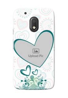 Motorola Moto G4 Play Couples Picture Upload Mobile Case Design