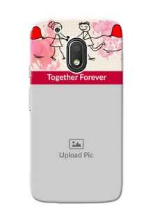 Motorola Moto G4 Play Just You And Me Mobile Back Case Design