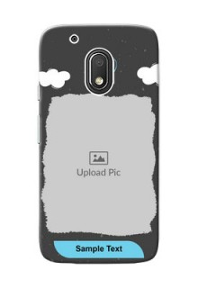 Motorola Moto G4 Play splashes backdrop with love doodles Design