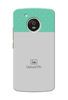 Motorola Moto G5 Lovers Picture Upload Mobile Cover Design