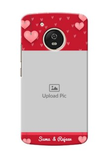 Motorola Moto G5 valentines day couple Design