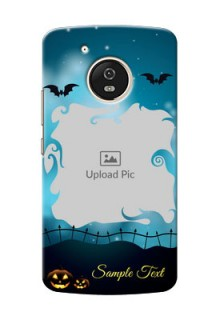 Motorola Moto G5 halloween design with designer frame Design