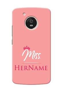 Motorola Moto G5 Custom Phone Case Mrs with Name