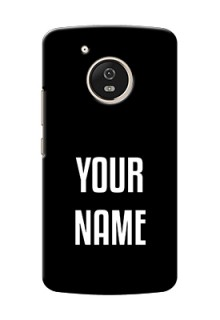 Motorola Moto G5 Your Name on Phone Case