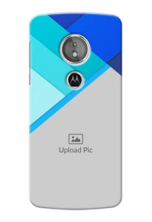 Motorola Moto G6 Play Blue Abstract Mobile Cover Design