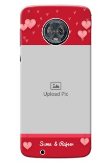 Motorola Moto G6 valentines day couple Design