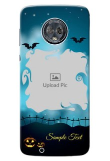 Motorola Moto G6 halloween design with designer frame Design