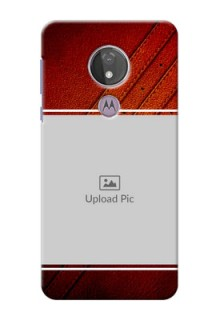 Moto G7 Power Back Covers: Leather Phone Case Design