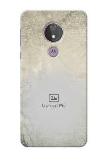 Moto G7 Power custom mobile back covers with vintage design