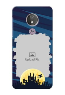 Moto G7 Power Back Covers: Halloween Witch Design