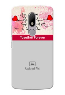 Motorola Moto M Just You And Me Mobile Back Case Design