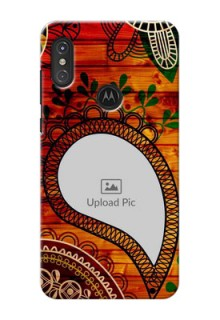 Motorola One Power custom mobile cases: Abstract Colorful Design