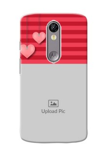 Motorola Moto X Force valentines day couple Design
