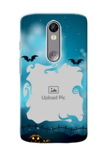 Motorola Moto X Force halloween design with designer frame Design