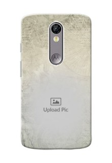 Motorola Moto X Force vintage backdrop Design