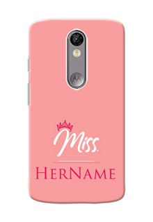 Motorola Moto X Force Custom Phone Case Mrs with Name