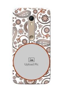 Motorola Moto X Style Floral Abstract Mobile Case Design