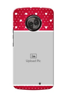 Motorola Moto X4 Beautiful Hearts Mobile Case Design