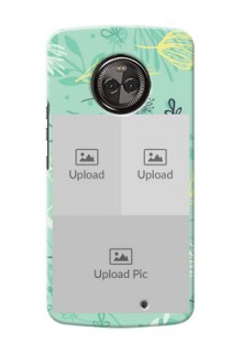 Motorola Moto X4 family is forever design with floral pattern Design