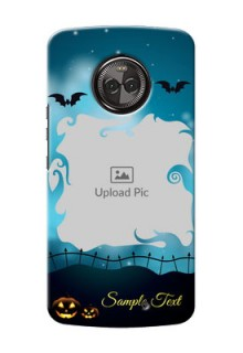 Motorola Moto X4 halloween design with designer frame Design