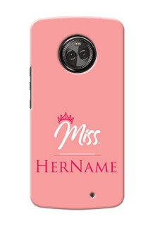 Motorola Moto X4 Custom Phone Case Mrs with Name