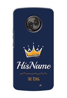 Motorola Moto X4 King Phone Case with Name