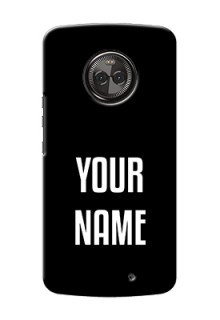 Motorola Moto X4 Your Name on Phone Case
